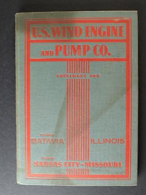 1931 U.S. WIND ENGINE & PUMP COMPANY HARDCOVER CATALOG~180 Pages