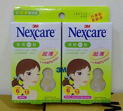 3M Nexcare Acne Clear Cover CARE DRESSING PIMPLE STICKERS PATCH ULTRA THIN OILY