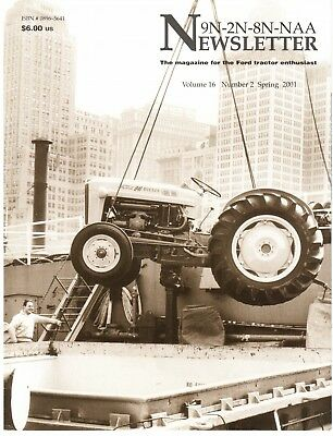 Ford Tractor Transmissions, 9N 8N 2N NAA newsletter