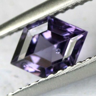 *0.66 cts. 7.2 x 5.2 mm. UNHEATED NATURAL VIOLET SPINEL FANCY BURMA