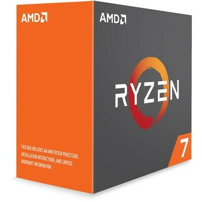 AMD Ryzen 7 2700X Processor 16 MB Cache 3.7 GHz AM4 8 Core 16 Thread Desktop CPU