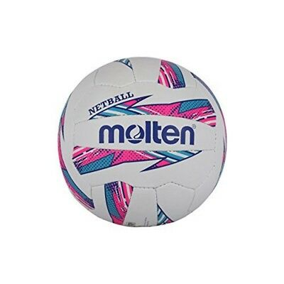 Molten Striker Netball Club And Match Level, Pink/blue, Size 5 - Nynp Quality