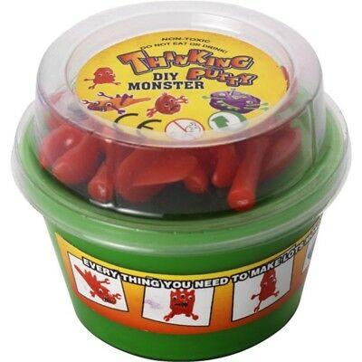D.i.y Critter Putty, Assorted Colours, 12