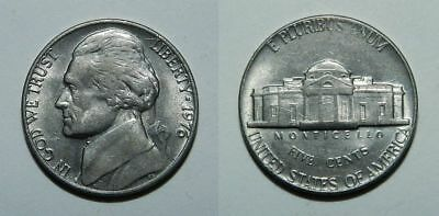 U.s.a. Jefferson Nickel 1976 - Lustrous Ef