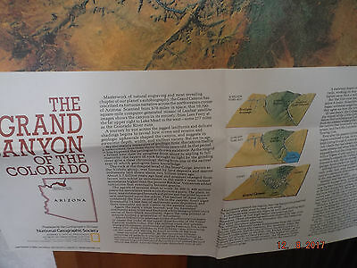 Karte:The Grand Canyon Of The Colorado, National Geographic Society, 1978