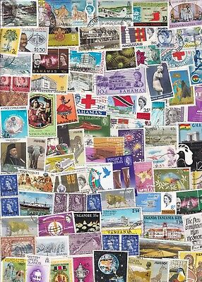 British Commonwealth Collection/accumulation 500++ Stamps