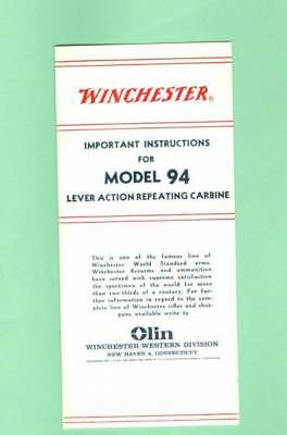winchester model 12 owners manual 40 50 s reproduction 4 95 rh picclick com winchester model 94 owners manual 1970- 1978 1971 winchester model 94 owners manual