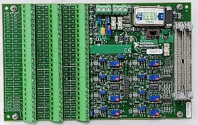 National Instruments 8 Channel Strain Gauge Signal I/O Board SC-2043-SG