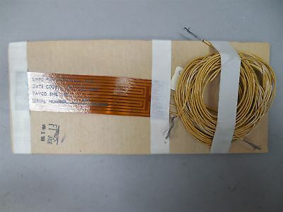 "(3) Tayco 1621490-027 Flexible Polyimide Circuit Heaters 3-1/2"" x 1"" NOS"