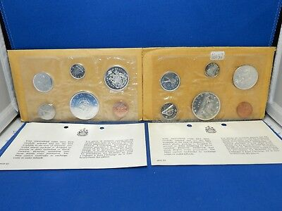1964 & 1965 Canada Silver Mint Sets
