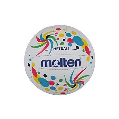Molten Women's Contender Netball Club And Match Level, Multi Coloured, Size 5 -