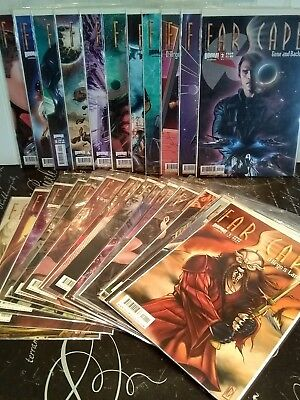 Lot of 30 FARSCAPE comics ~ D'Argo's Lament, Trial, Strange Detractors, more TR