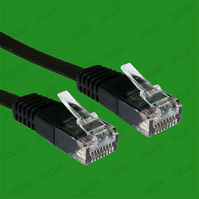 1x 5m LONG Internet Ethernet RJ45 CAT5e Network LAN Cable Lead Wire PS3 PS4 XBOX