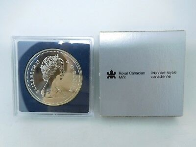 1986 Canadian Silver Proof Dollar