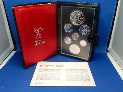 1978 Royal Canadian Mint Proof-Like Coin Set