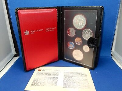 1981 Royal Canadian Mint Proof-Like Coin Set