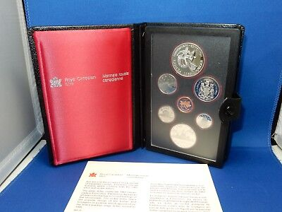 1983 Royal Canadian Mint Proof-Like Coin Set