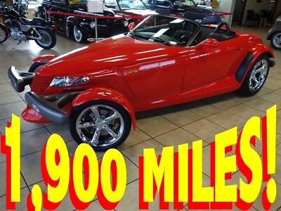 1999 Plymouth Prowler  ONLY 1,900 MILES 1999 PLYMOUTH PROWLER CARFAX CERTIFIED