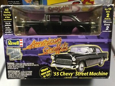 Revell American Graffitti '55 Chevy Street Machine Metal Body Kit -2000 -Unbuilt