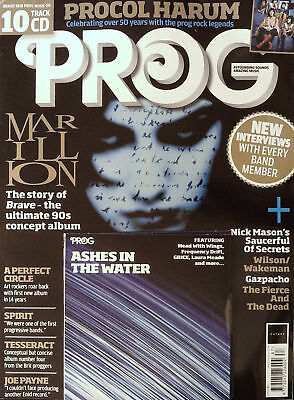 Prog Magazine + Cd May 2018 (Marillion, Procul Harum, Nick Mason, Spirit) New