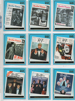 Doctor Who Definitive Series 1 - Lot Of 14 Gold Foil chase cards NM Strictly Ink