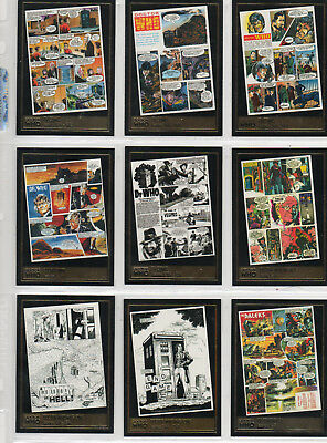 Doctor Who Definitive Series 2 - Lot Of 12 Gold Foil chase cards NM Strictly Ink