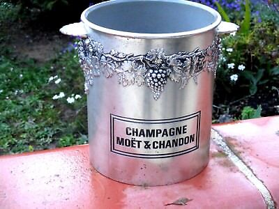 Seau A Champagne  Moet & Chandon -Champagne Bucket Ice Acrylic Cooler Vines