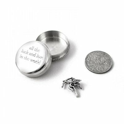 Tales From The Earth All The Luck And Love Silver Christening Keepsake Box Baby