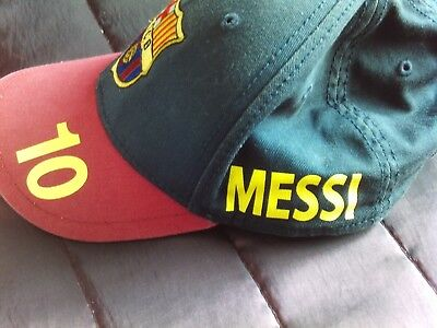 baseball cap barcelona football cap theme messi football cap no10 junior size