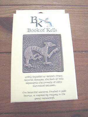 Book of Kells Hound Souvenir, boxed, product of Wild Goose Studio, Ireland