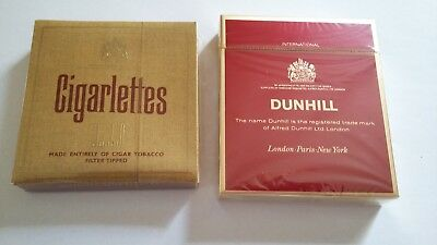 2 paquets cigarettes dunhill pour collection neuf