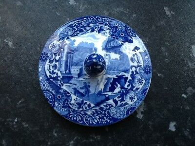 Spode Replacement Italian Pattern Teapot Lid Fits 3.25 Inch Opening No Reserve