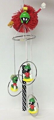 Looney Tunes Marvin The Martian 18 Inch Long Wind Chime - Rare - Looney Tunes