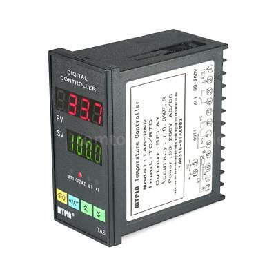 Digital LED PID Temperature Controller Thermometer RNR 1 Alarm Relay TC/RTD D1U5