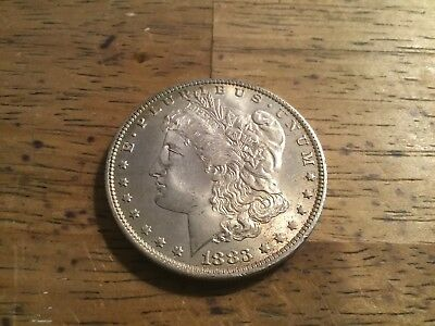 Beautiful Bu 1883 O Morgan Silver Dollar Estate Sale Great Detail