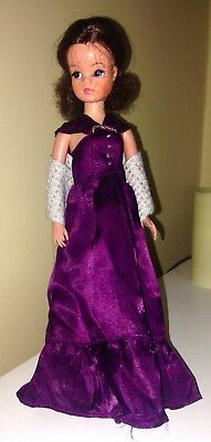 1982 Vintage Pedigree Sindy Doll Super Fashions Evening Dress...outfit Clothes