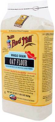 Bob'S Red Mill Whole Grain Oat Flour 22 Oz Pack of 4