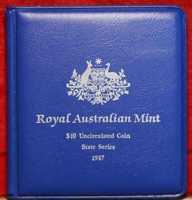 Uncirculated 1987 Royal Australian Mint $10 Silver Foreign Coin