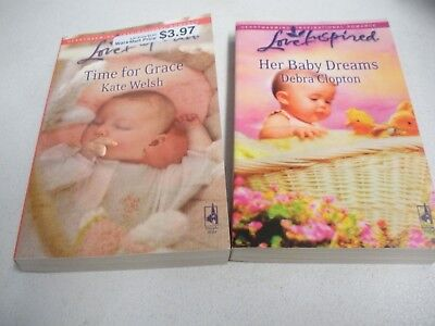 Lot M – Love Inspired - Baby – Lot of 2 books