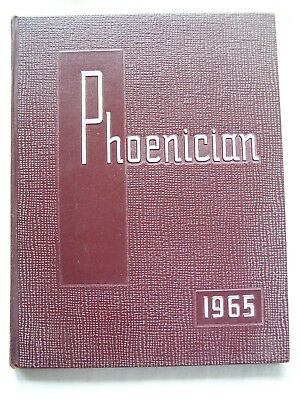 1965 Westmount High School Yearbook Johnstown, Pennsylvania Phoenician  Unmarked