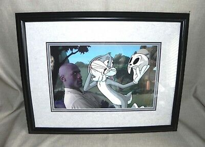 Space Jam Warner Bros. TO PLAY OR NOT TO PLAY Cel Michael Jordan Limited Edition
