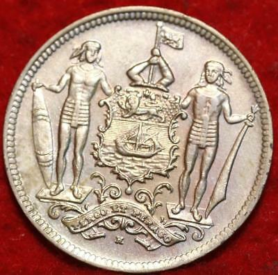 1903-H British North Borneo 2 1/2 Cents Foreign Coin