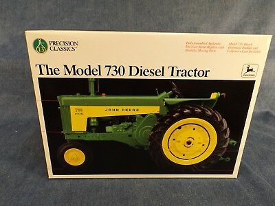 JOHN DEERE MODEL 730 DIESEL PRECISION CLASSIC TRACTOR - NEVER REMOVED from BOX
