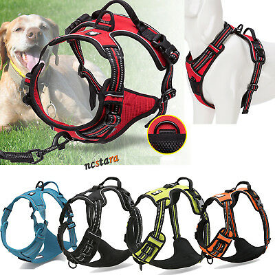 Truelove No Pull Dog Harness Large Dog Pet Harness Adjustable Pet Vest Outdoor