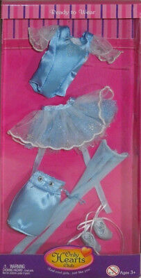 NEW Only Hearts Club Ready to Wear Blue Ballet Outfit 253 leotard stockings