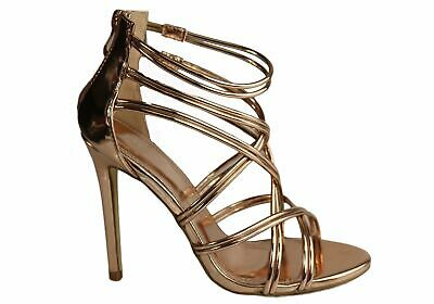 New Lavish Claudia Womens Stunning High Heel Stiletto Strappy Sandals