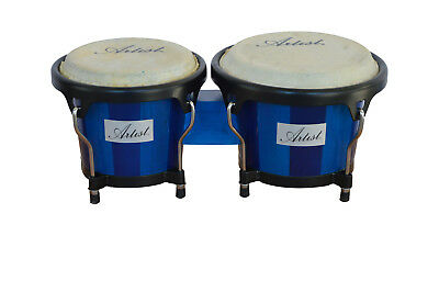 Artist AZUL67 Bongo Drums Set - 6 and 7 Inch - New