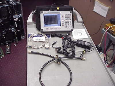 Anritsu S820D Site Master Cable/Antenna Analyzer 25MHz  --  20GHz -with cal kit