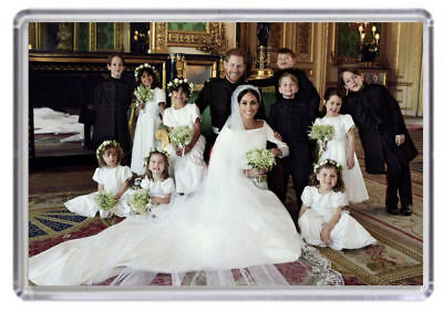Prince Harry and Meghan Markle Royal Wedding Fridge magnet 08