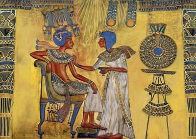 Jigsaw Puzzle Ancient Egyptian King Tutankhamen & Ankhesenamun 1000 pieces NEW